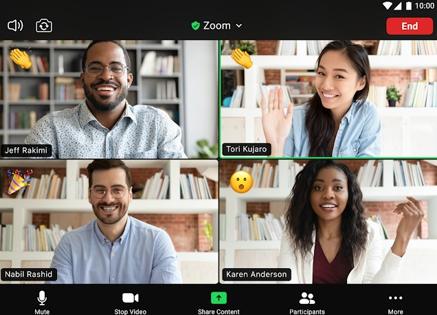 zoom group video call
