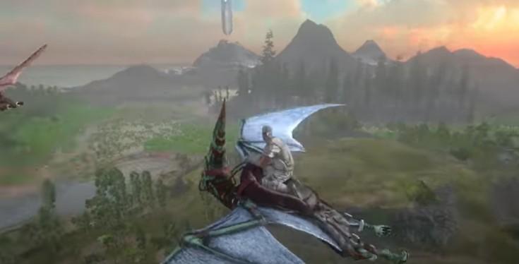 ark survival island gameplay