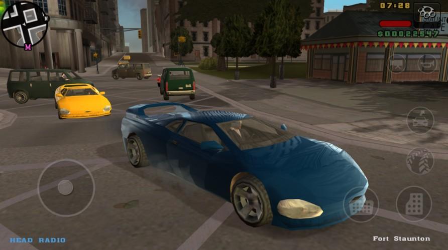 grand theft auto scene