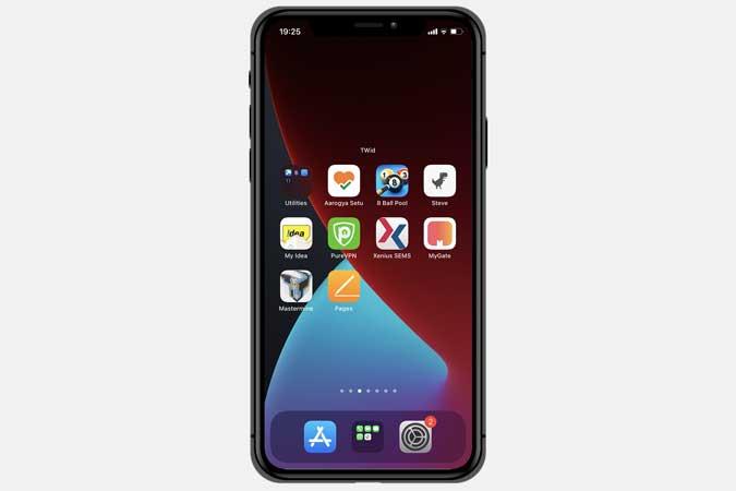transparent widget for iphone