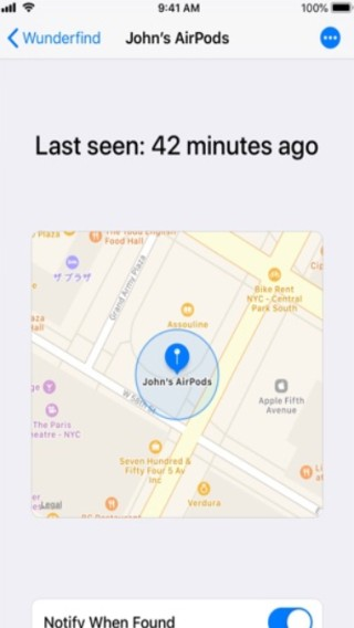 wunderfind bluetooth devices on map