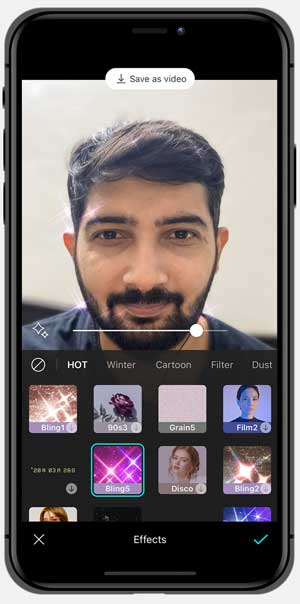 b612 selfie editing app