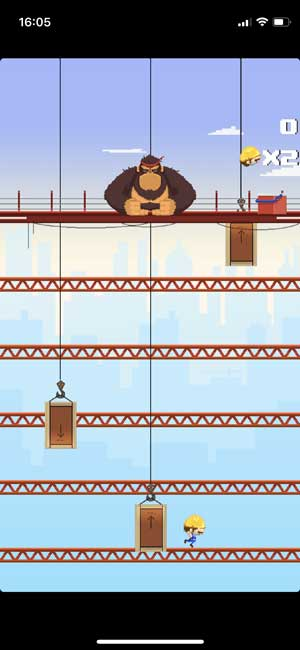 blocky kong game on iphone