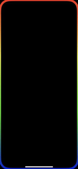 edge lighting- live wallpaper for iphone