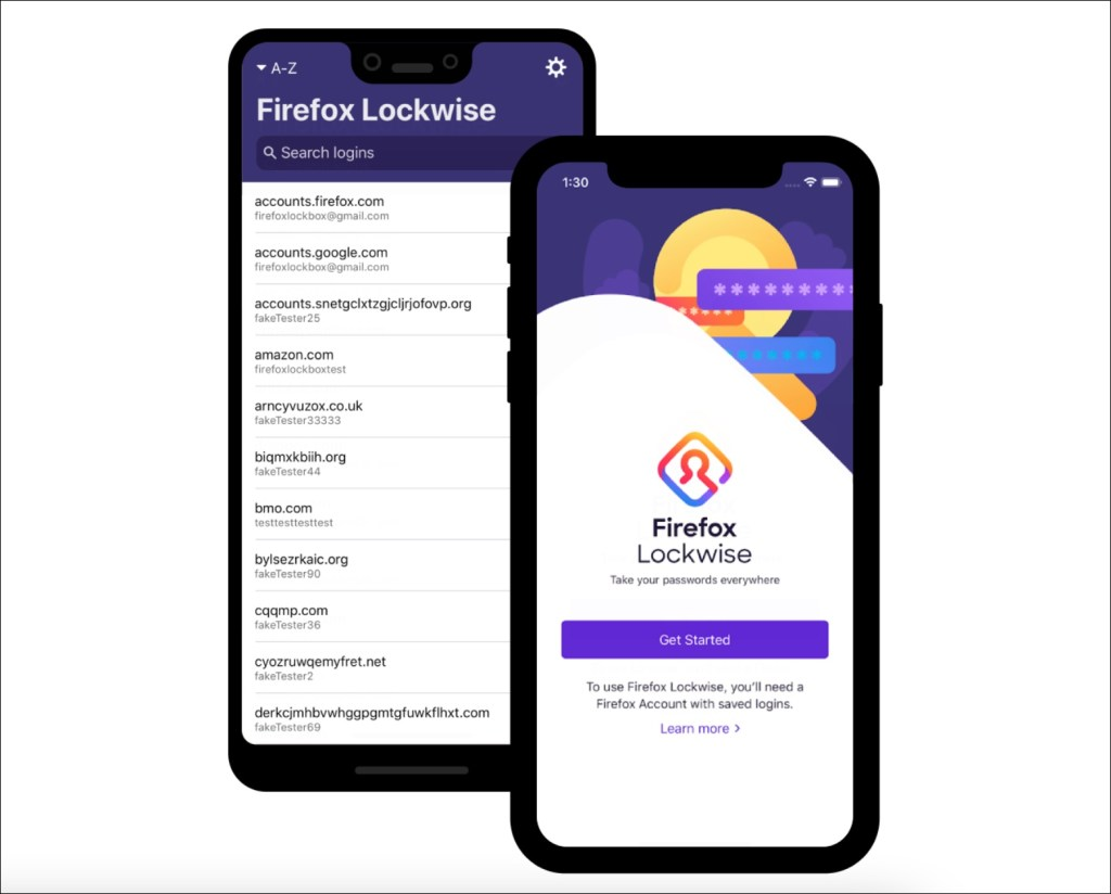 firefox lockwise password manager
