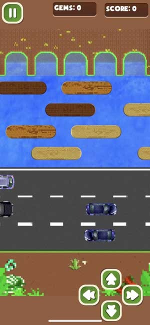 unofficial frogger port for iphone