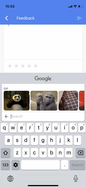 gboard gif feature