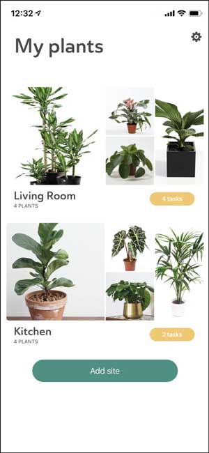 planta- reminder app for iphone to water your plants
