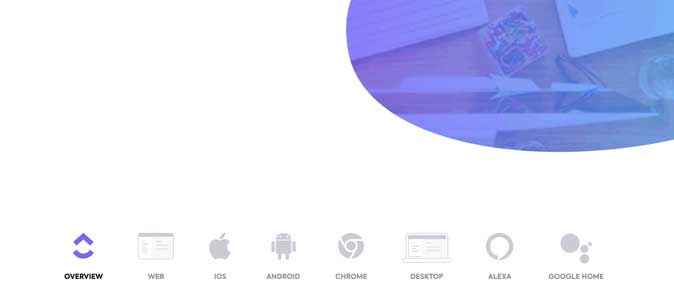 availability on platforms clickup