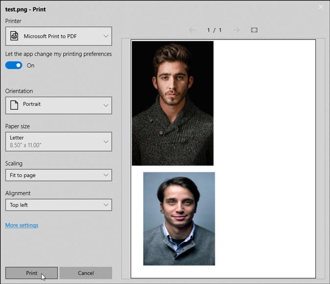 combine multiple photos into one pdf using paint 3d