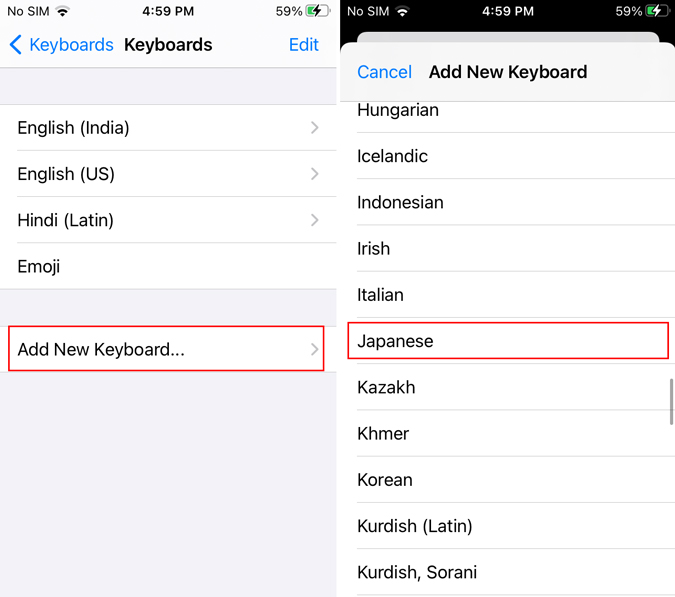 How to Use Japanese Keyboard on iPhone