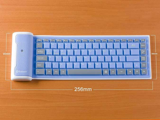 rollable bluetooth keyboard for iphone