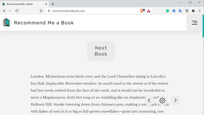 book recommendation sites