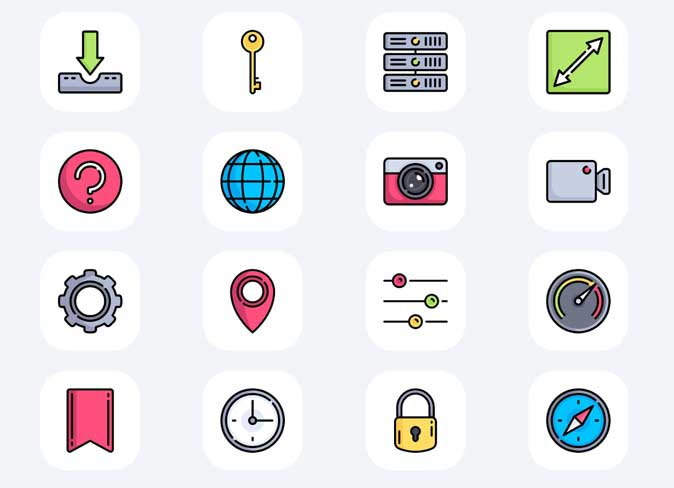 ios 14 icon pack- hand-drawn icons for iphone