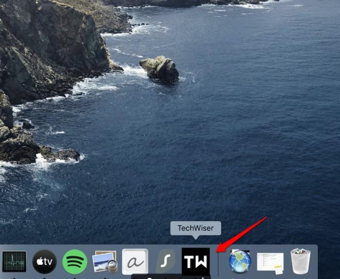 website turned into web app on macOS