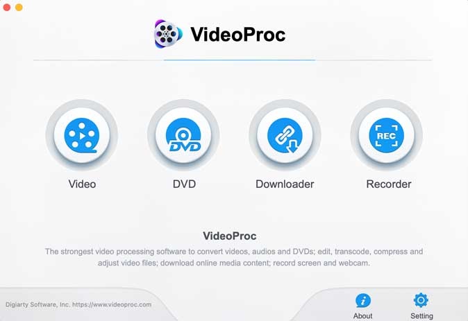 videoproc software on mac