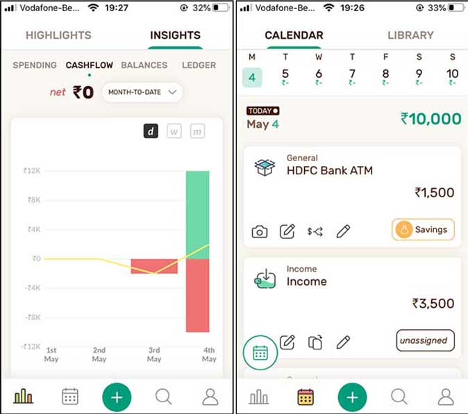 wally- manage and visualize home budget with graphs