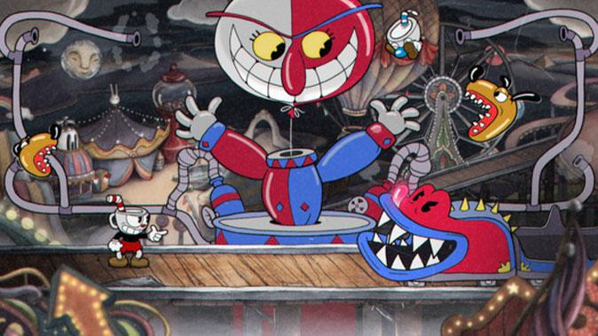 cuphead- old-school cartoon animation game
