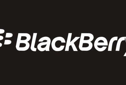 blackberry logo black and white