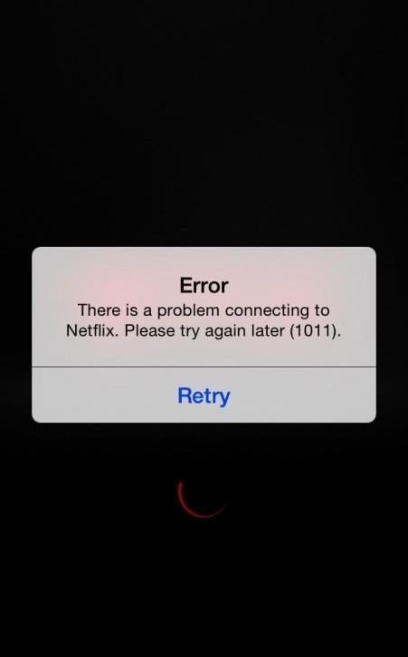 fix error 1011 on netflix
