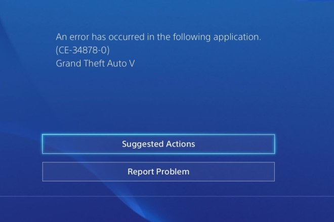 How To Fix PS4 Error Code CE-34878-0
