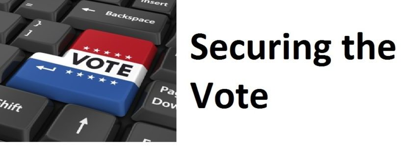 Securing the nation's electoral infrastructure