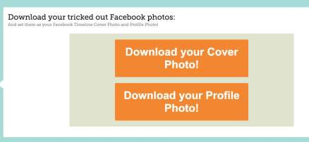 Make A Cool Combo Of Facebook Cover And Profile Picture 4
