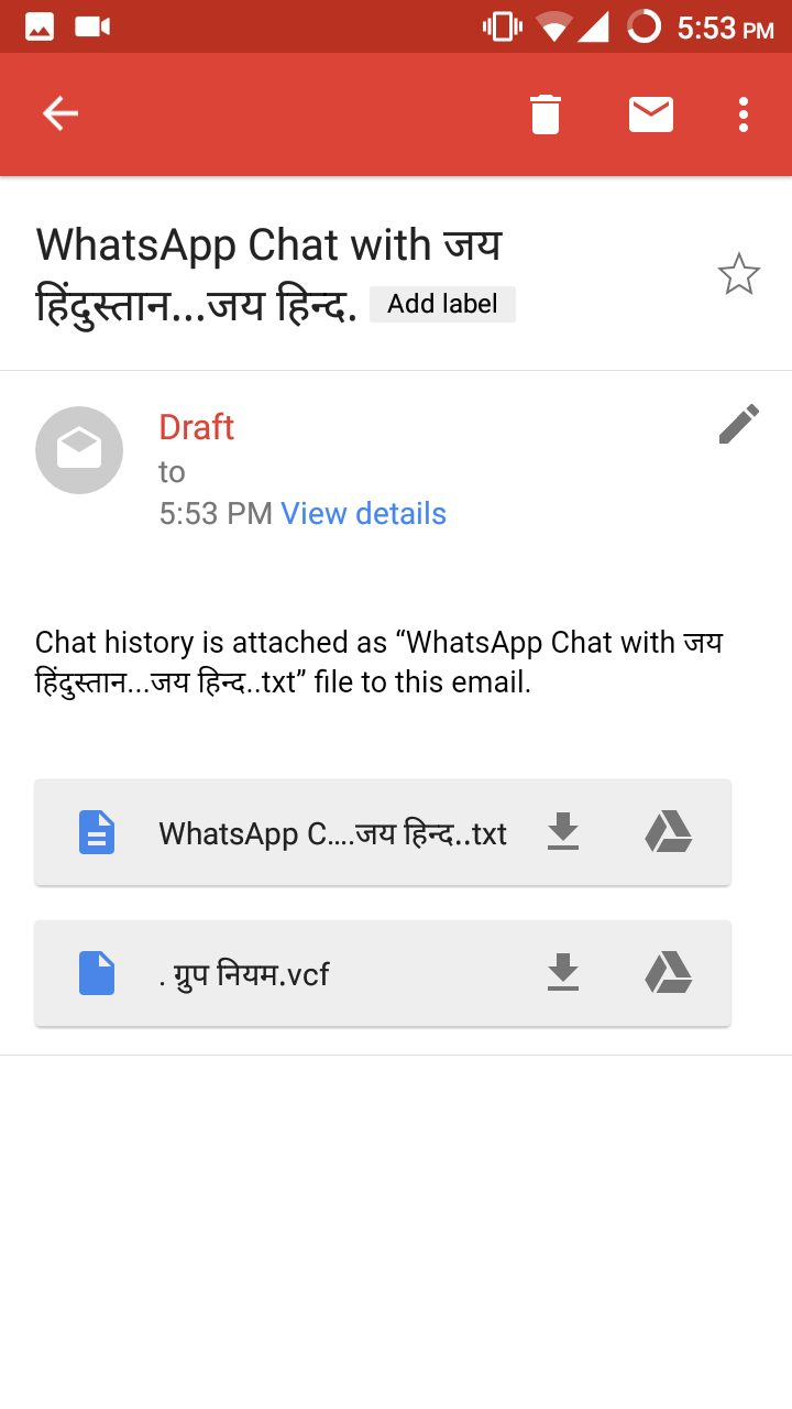 How To Convert WhatsApp Chat Conversation To TXT Format 12