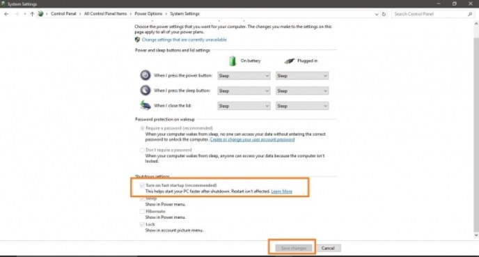 How To Enable Windows 10 Fast Startup 6