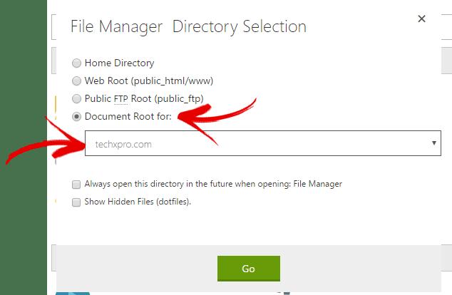select_dir