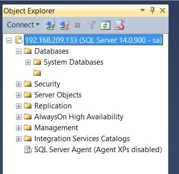 install sql server agent only