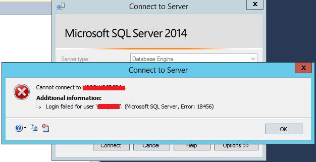 Fix Error 18456: Login failed for user 'User_Name'