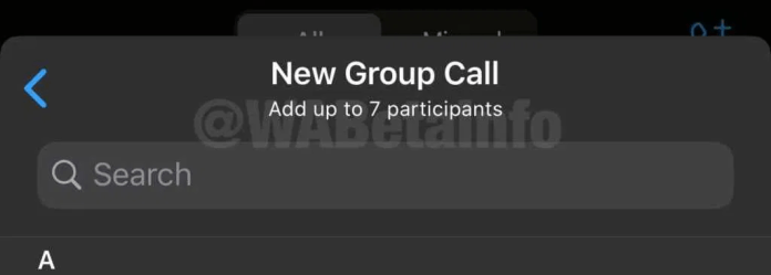 whatsapp group calling limit 2020, whatsapp group video call limit