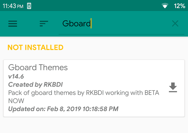 Gboard Themes, unique gboard themes search gboard
