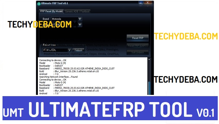 UMT Pro UltimateFRP v0.1 Latest Setup Download for windows