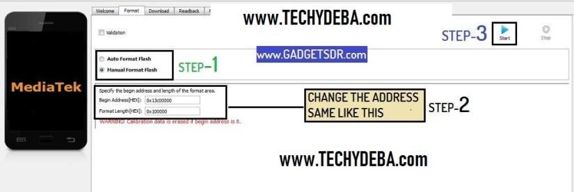 change format code