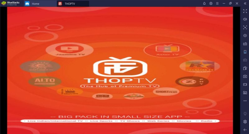 thoptv screenshot 1024x550 - Download and Install Thoptv For PC - Windows And Mac