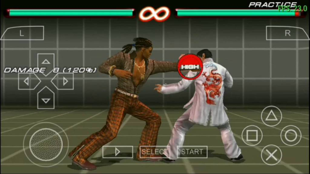 Tekken 6 one of the best PPSSPP games download on android smartphone
