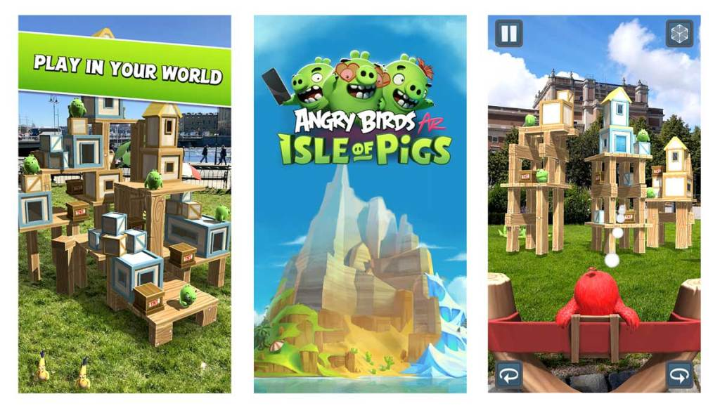 Angry Birds is one of the best pokemon alternatives for android and iOS