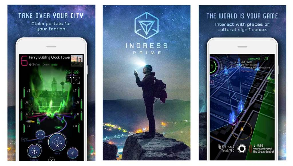 Ingress is another one of the best games like Pokemon Go for android and iOS