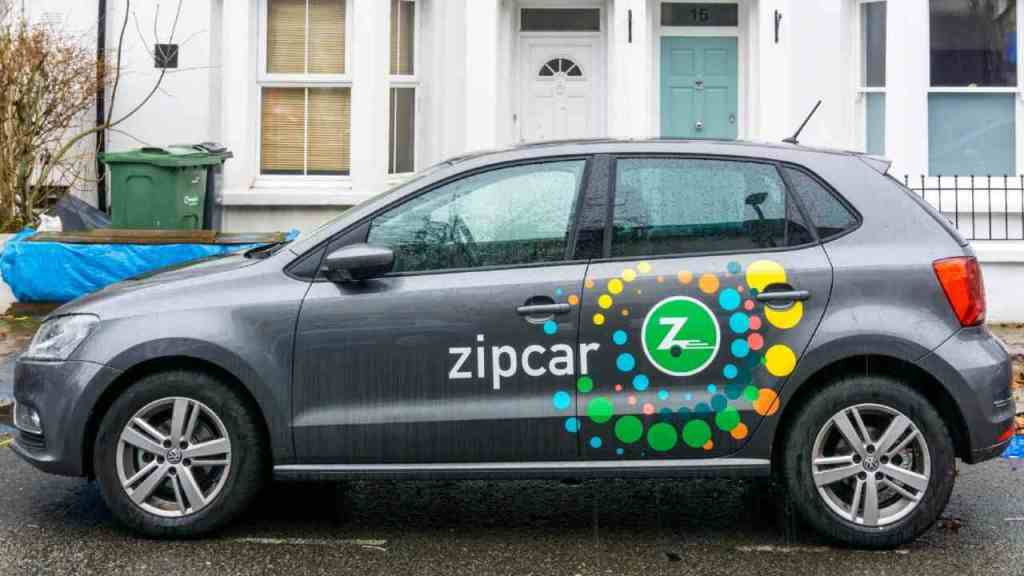 Zipcar is one of the best apps like Turo that lets you take cars on lease