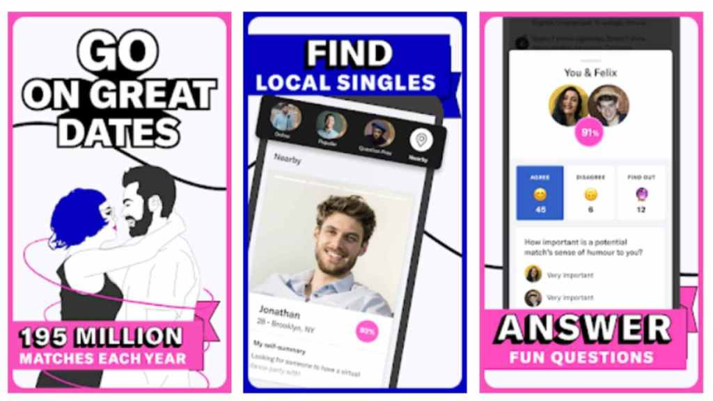 Okcupid is one of the best secret dating apps for android and iOS