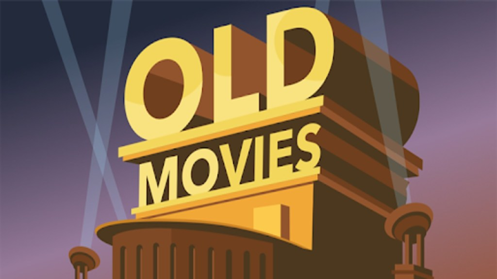 Old Movies is one of the best apps to download for movies