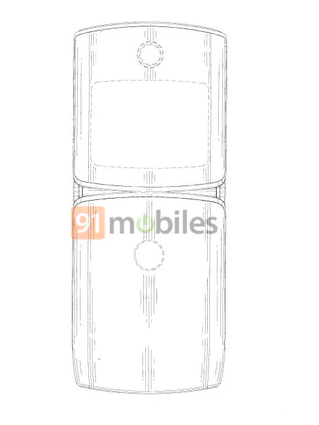 Motorola RAZR 2019 Foldable Smartphone Design Revealed In