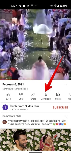 Download Youtube Short video