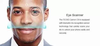 Tecno-c9-iris-scanner