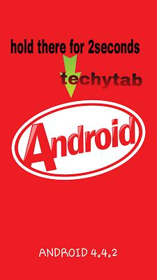 Android kitkat hidden secret game