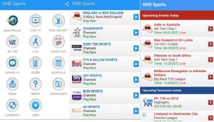 GHD Sports apk