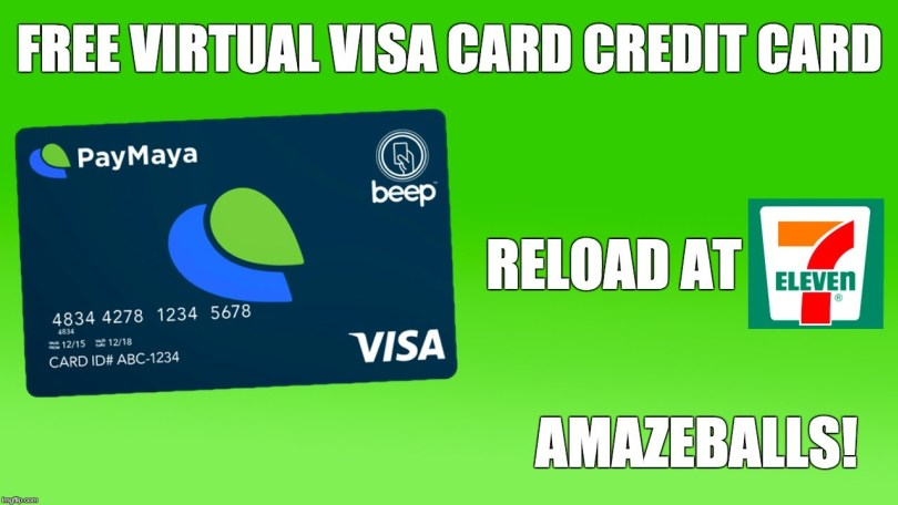 10 free virtual credit card vcc providers 2018 techywhale - Virtual Visa Card Load With Paypal