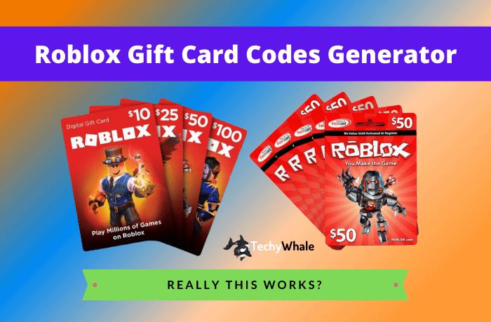 Roblox Gift Card Redeem Codes 2020 Unused